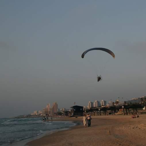 Strand in Haifa Israel