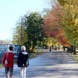 Spaziergang im Treptower Park