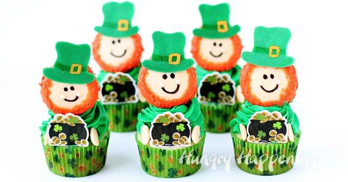 Leprechaun Cupcakes Fun St Patrick S Day Treats