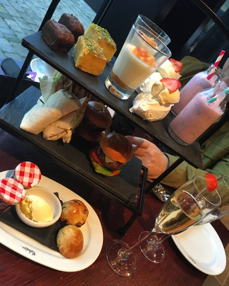 Afternoon tea at the Malmaison Liverpool