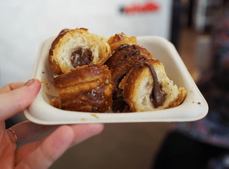 Nutella Cannoli Eately Flatiron New York