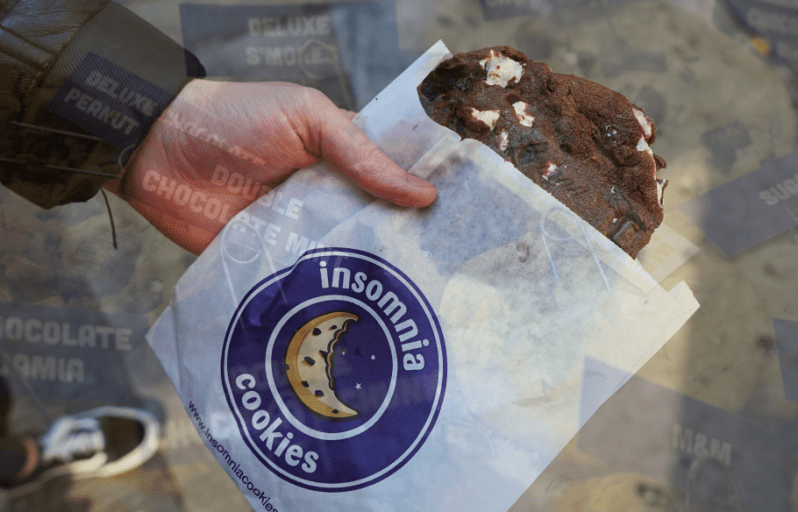 Insomnia Cookies Greenwich Village New York