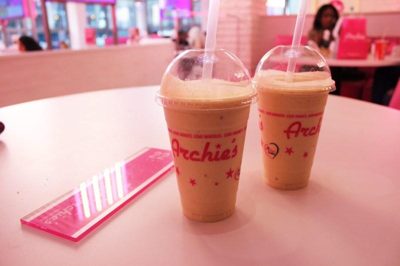 Free Shake Fridays archies Liverpool