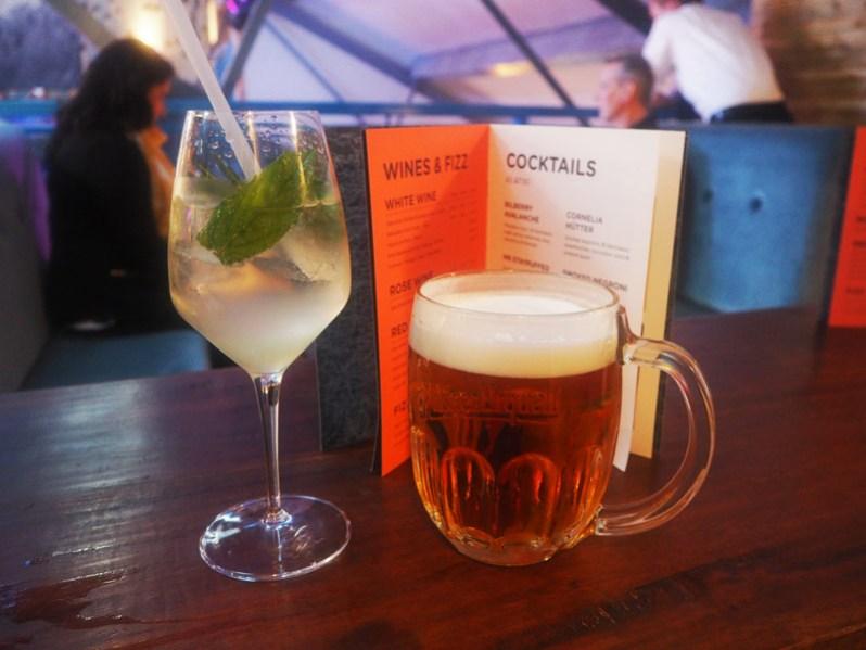 Porky's Ski Hutte bar Liverpool Berry Street