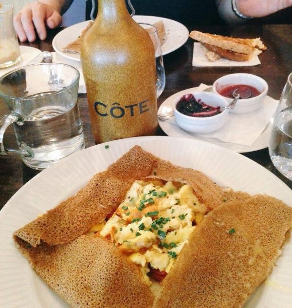 Breakfast at Cote Liverpool