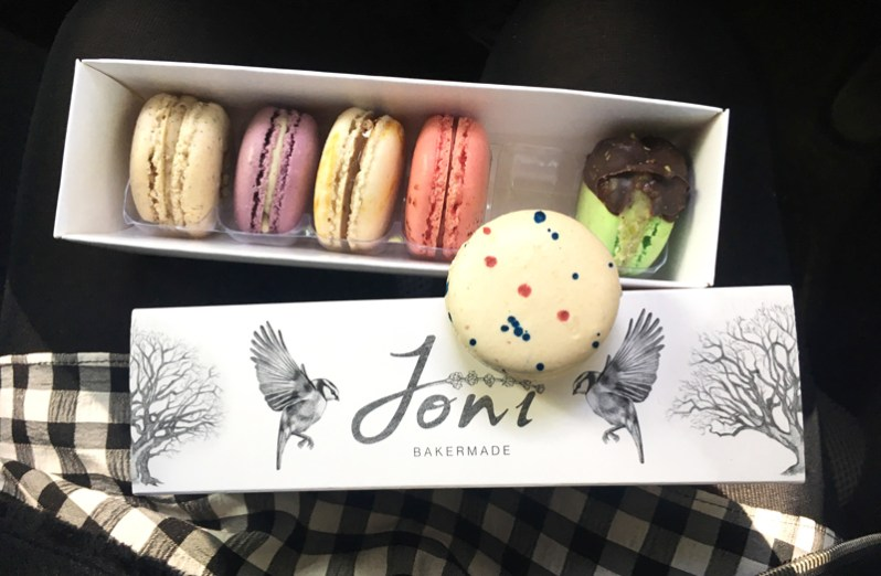 Joni Bakermade macarons Liverpool Food and Drink Festival Sefton Park 2017