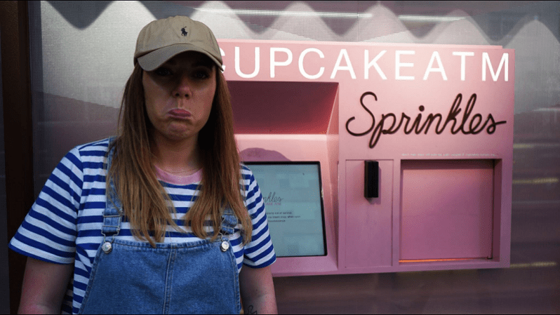 Sprinkles Cupcake ATM Lexington Avenue New York City