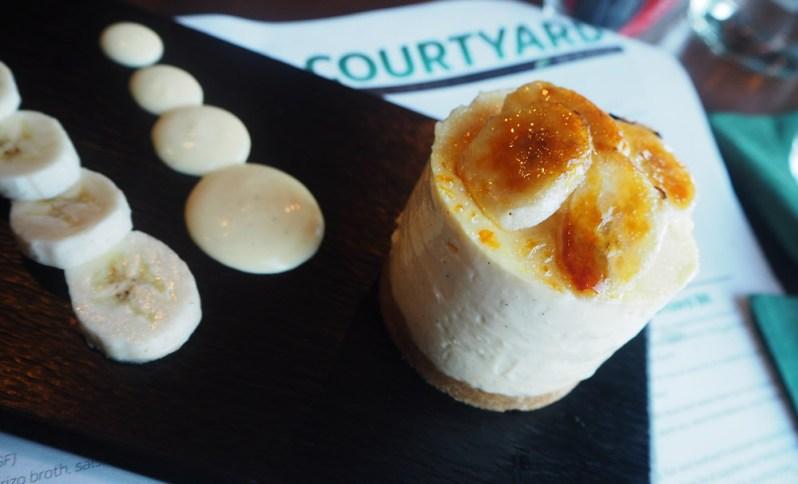 banana-and-custard-cheesecake