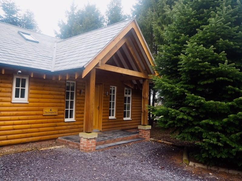 Douglas Fir Lodge The Hollies