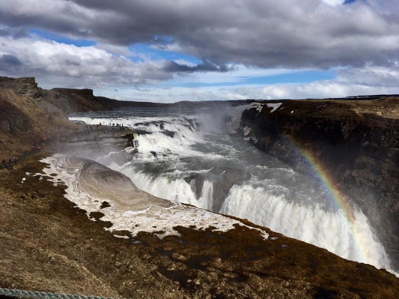 Iceland Gullfoss Waterfall tour