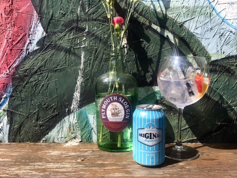 Botanical Gin Garden Liverpool Baltic Triangle