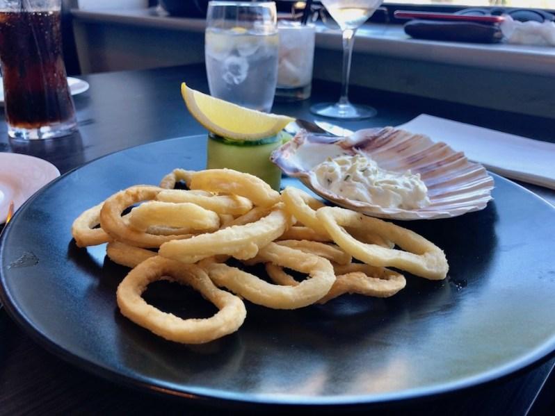 Calamari Fritti at Est Italian restaurant West Kirby Wirral