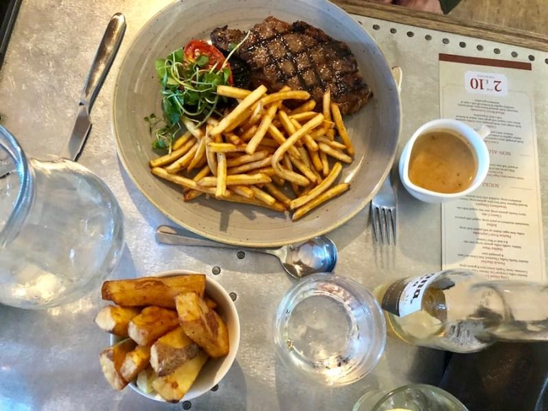 Bastion restaurant Liverpool food menu