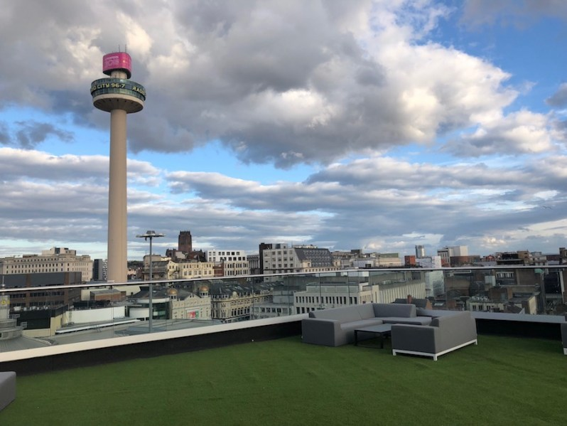 Shankly Hotel rooftop bar