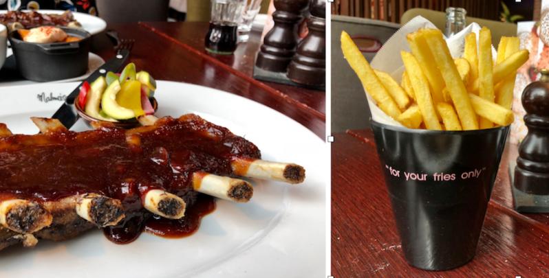 Malmaison hotel Liverpool restaurant summer food menu