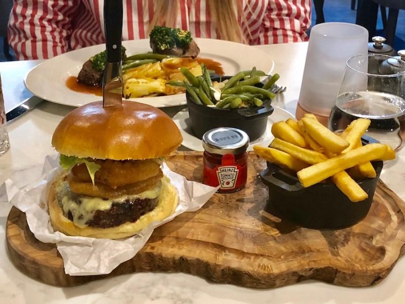Marco Pierre White Chophouse restaurant Manchester food menu