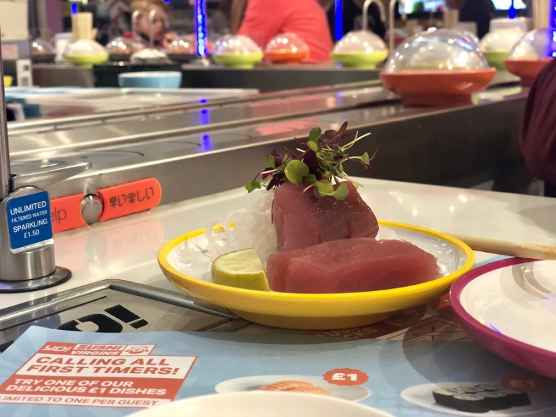 YO Sushi Cheshire Oaks menu