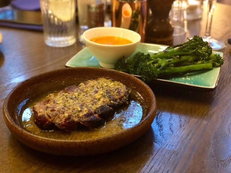 The Refuge Manchester restaurant food menu 2