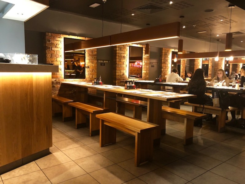 Wagamama Liverpool ONE opening times