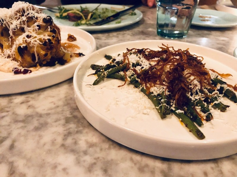 Small plates at Rocket and Ruby restaurant Liverpool - sister of Salthouse Bacaro