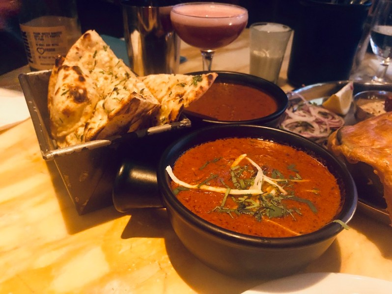 Chicken Ruby Murray curry at Dishoom Manchester