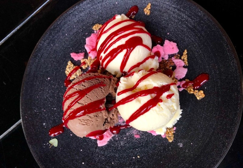 Grand Pacific dessert menu Manchester