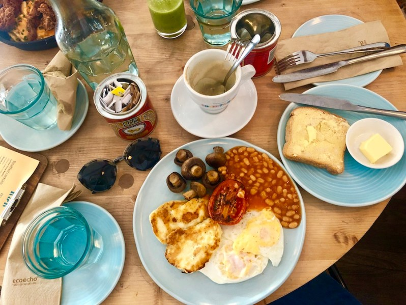 breakfast and brunch at Rocket and Ruby on Castle Street in Liverpool city centre