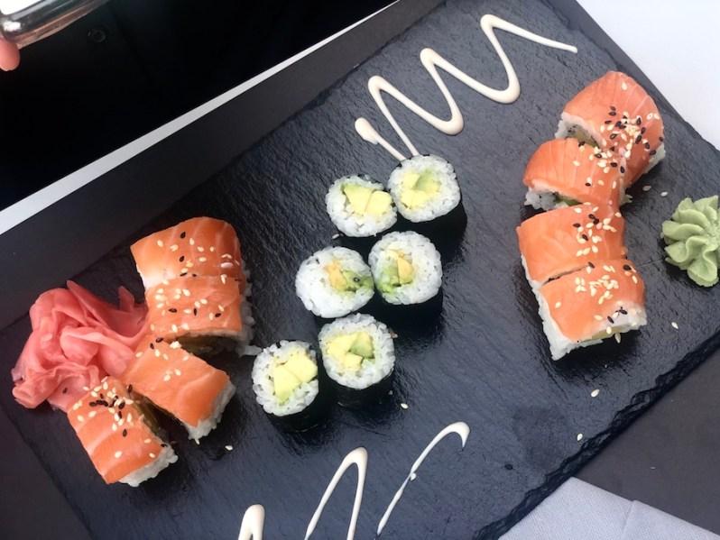 Asian food menu at Biberon sushi restaurant and bar in Split Croatia 3