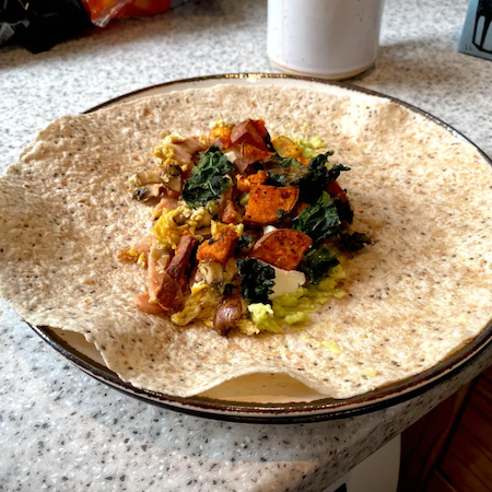 The best breakfast burrito recipe ever
