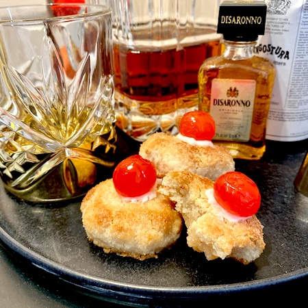soft amaretti biscuit recipe with Disaronno amaretto, lemon and cherry.jpg