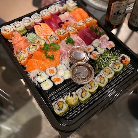 Sapporo Teppanyaki sushi platter delivered to the Wirral by Lay the Table Liverpool.jpg