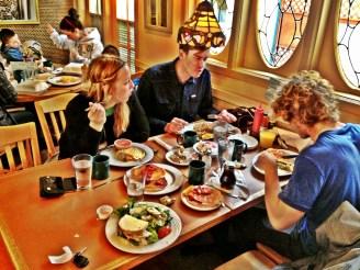Ruth's diner in SLC