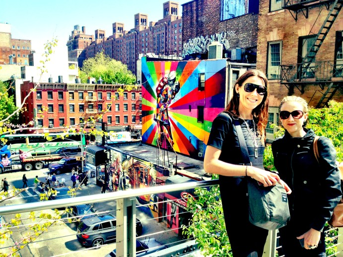 Prime time on the High Line