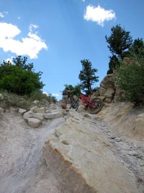 More climbing, Dakota ridge