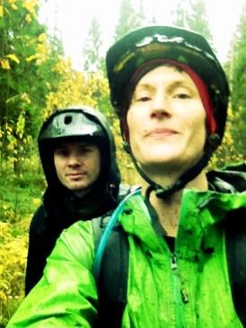 Wet but quite happy