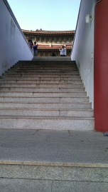 Up the stairs we go~