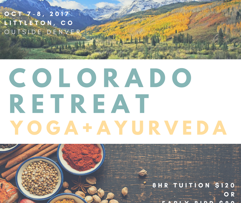 Yoga Ayurveda Colorado Retreat : Pierre Couvillion