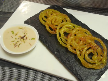 Jalebi and Rabdi