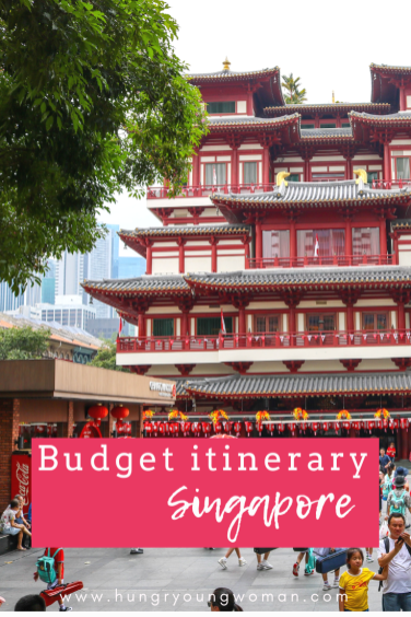 Singapore budget trip ITINERARY with a budget including flights, hotels, tourist spots, and cheap Singapore packages in this Singapore travel guide blog