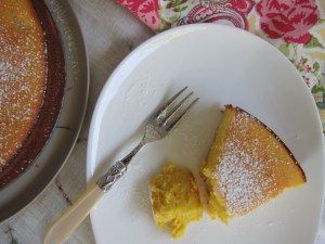 Flourless orange almond cake