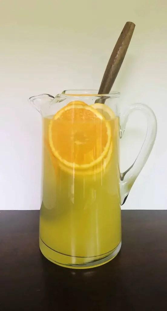 Pitcher of Orange Lemonade