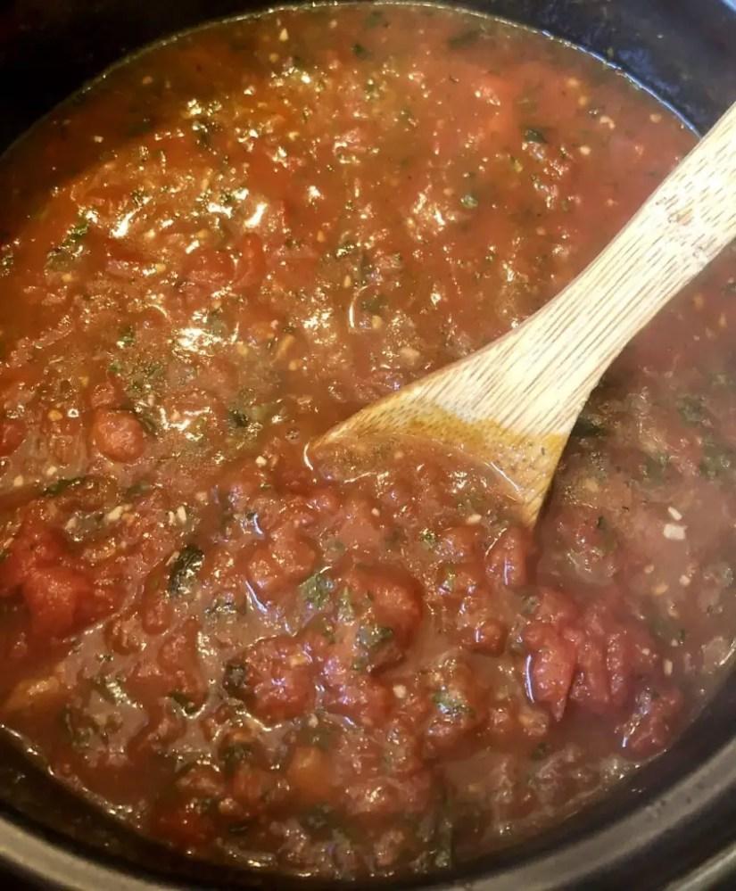 Easy & healthy tomato sauce