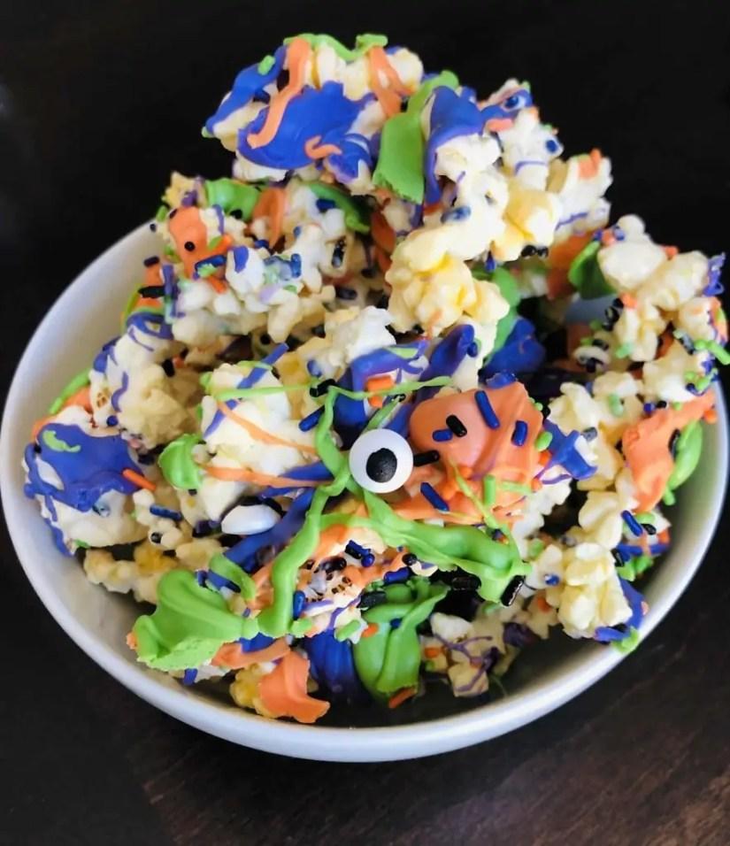 Halloween Monster Popcorn