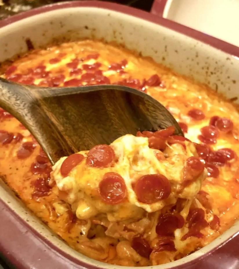 Pepperoni Pizza Mac & Cheese