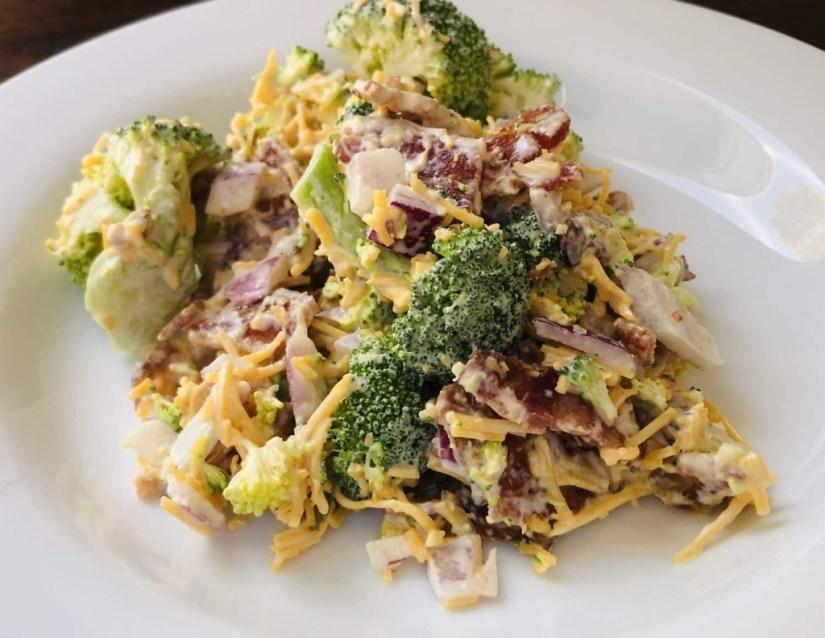 Bacon Dijon Broccoli Salad
