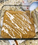 Molasses Cookie Bars with Glaze