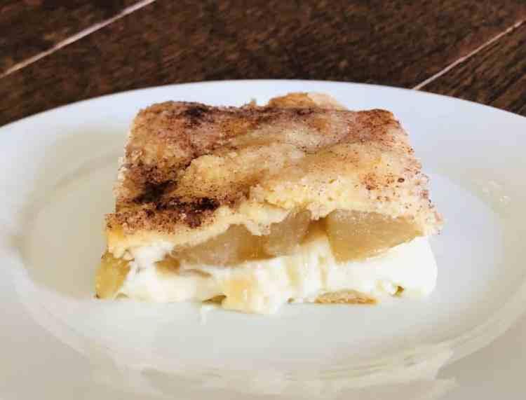 Easy Apple Sopapilla Cheesecake