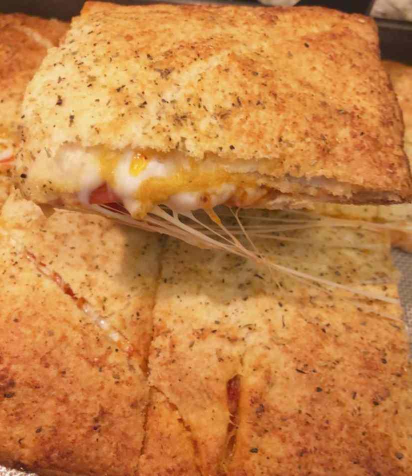 Easy Crescent Pizza Bake
