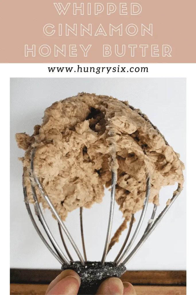 Whipped Cinnamon Honey Butter Pin