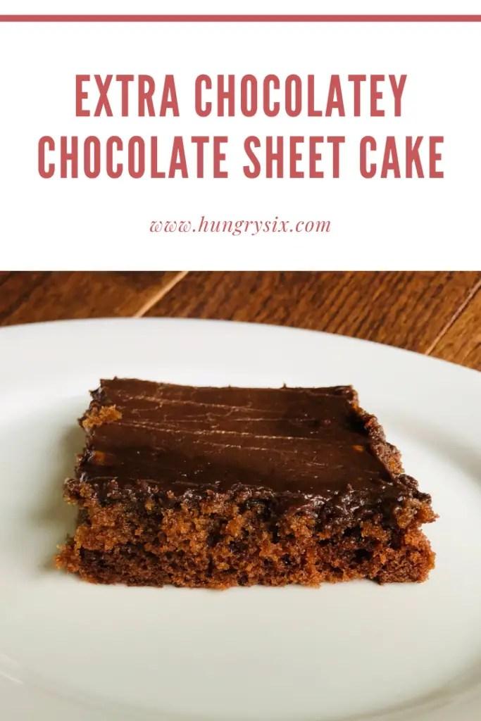 Extra Chocolatey Chocolate Sheet Cake Pin
